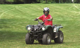 ATVs: Great Fun, But High Risk for Young Operators