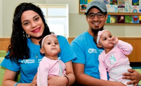 After a Successful Recovery from Separation Surgery, Formerly Conjoined Twins Ballenie and Bellanie Camacho Released from Maria Fareri Children's Hospital